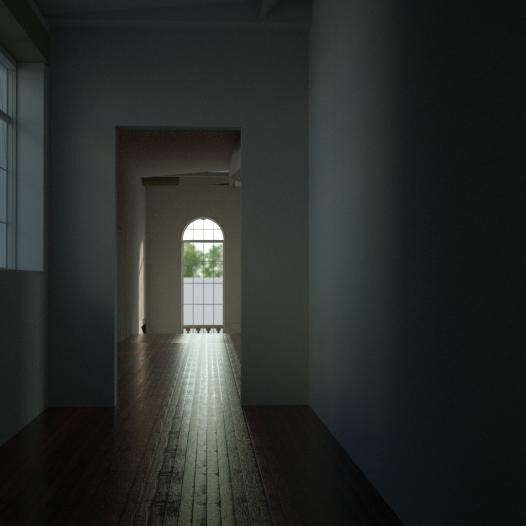 Enterprise House Corridor